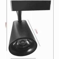 铸造加工一体超薄透镜轨道灯外壳 惠州铝合LED灯具压铸厂直供