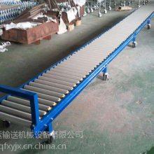 箱包生产厂家用动力滚筒输送机滚筒式 福州