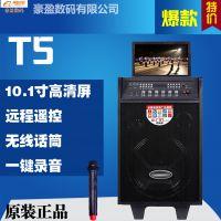 T5广场舞视频音响大功率移动电瓶音箱无线K歌插卡音箱看戏机