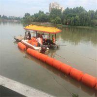 水电站有效拦污网浮筒 水面清污浮筒