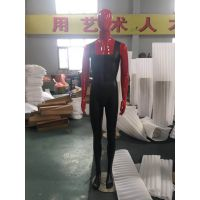 亮光红色男装模特 玻璃钢男士模特 潮牌男全身模特 时尚展示模特