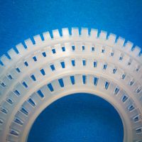 护线齿 PCB板护线套 自由绝缘 机箱齿型保护套 厂家