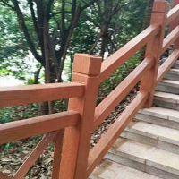 水泥仿木护栏厂家山东泰臻横杆护栏