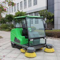 宁夏小区道路清扫车 玛西尔DQS18A电动环卫扫地车 驾驶式扫地机价格