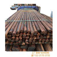 园林古建筑碳化木柱|别墅室外路灯杆木质|装修圆木板材 户外