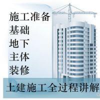 土建施工员视频教程识图造价技术监理项目管理建筑工程师学习课程