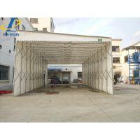 济阳县厂家直销大型推拉蓬 布活动伸缩雨棚 伸缩式 自动
