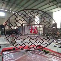 湘西烤漆木纹色铝花格订做 仿古铝花格供应商