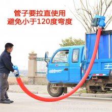 胶管装粮用吸粮机 润丰 可随意弯曲吸粮机 家庭用小型抽粮泵