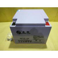 圣阳蓄电池12V24AH 圣阳SP12-24B风能电站/UPS/路灯/太阳能蓄电池