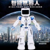 乐能K3水电混合遥控智能机器人 声控互动跳舞儿童早教智能玩具