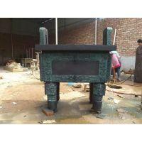 大型铜方形鼎摆件 纯铜铸造司母戊鼎厂家定制
