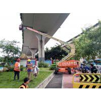 广州天河出租24米柴油直臂高空车