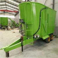 电动搅拌机电子称重 柴油机带动混料机 TMR配重系统搅拌机