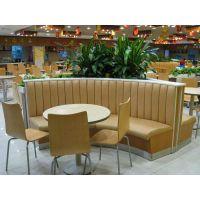 主题餐厅沙发定做半圆沙发弧形卡座,餐饮沙发卡座工厂直销