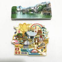 香港元素合集 乌镇风景 冰箱贴磁性贴 旅游纪念品磁性贴