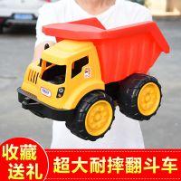 超大号挖掘机挖土机儿童玩具车模型男孩宝宝滑行工程车汽车套装