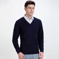 品牌剪标男式波点衬衫领蜘蛛刺绣加绒保暖假两件针织衫体恤C4C689