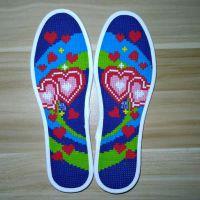 十字绣鞋垫精准制作新款不掉色按摩送男友带线各种码数女士