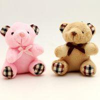 厂家生产毛绒玩具小熊公仔泰迪熊手机挂件 外贸包包钥匙扣挂件