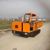 河北沙石装载履带运输车农用履带运输车小型工程运输车
