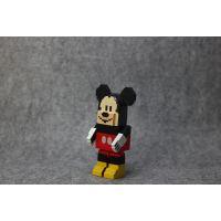 经典米奇新6款米老鼠高飞狗造型公仔手办摆件微景观装饰玩具