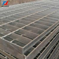 厂家热卖热镀锌钢格栅盖板G505/30/50G_Q235沟盖板平台踏步板