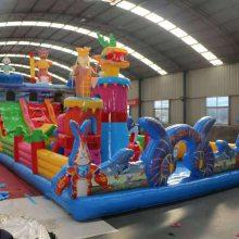 新型儿童主题游乐场充气大滑梯游乐设备景区商场充气城堡淘气堡