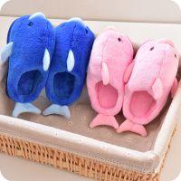 儿童棉拖鞋秋冬季男童女童可爱宝宝亲子一家三口棉鞋室内防滑可爱