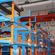 吉林重型管材货架 伸缩悬臂货架定做