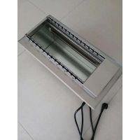 北京东方众邦供应:dfzb13型 全自动电热烧烤炉 一次烤13串翻转 两侧加热无烟环保