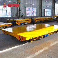工厂拉货轨道式平板车 重型检测仪器搬运地轨车建筑机械轨道平车
