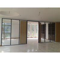 深圳铝合金玻璃间墙 成品办公室隔断 厂家