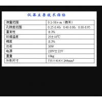 平均粒度测定仪(中西器材) 型号:M229143/WLP208A库号:M229143