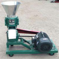 小型家用制粒机 120型养殖厂饲料加工机 平模饲料颗粒机