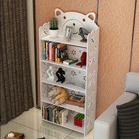 床边小孩子保护格架置书架摆放储物式现代多功能简单的书柜置物架