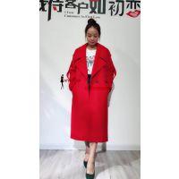 广西价格便宜质量好新款品牌女装尾单批发冬季长款大衣到艾薇萱