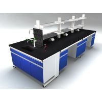 WOL厂家定做小学实验室操作台 理化试验台