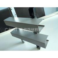 热销木纹铝方通、环保型材四方管、50*100 U型铝方通