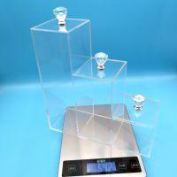 厂家定制亚克力储物盒 有机玻璃收纳盒 亚克力透明盒 亚克力礼盒