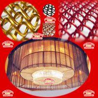 安徽合肥厂家生产 金属装饰窗帘 隔断屏风垂帘网 铝丝网 量大从优