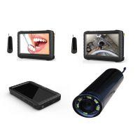 2.4g 无线摄像头 手握式管道检测摄像录像机 5寸高清屏