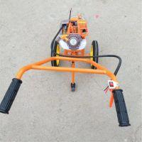 山林便携汽油打草机 背负式除草机型号优点 汽油手持割草机