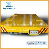 热销轨道搬运设备平车电动平板车保温容器搬运 拖线式平板车 包邮