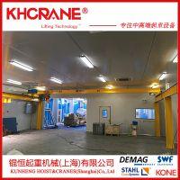 上海5t跨度5米单梁行车欧式单梁桥式起重机 配德马格进口葫芦