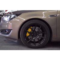 [深圳刹车专业]别克君威刹车升级英国AP9040大六、饱满帅气、灵敏制动