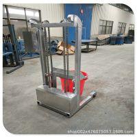 供应240L垃圾桶提升倒料装置  提升翻倒机