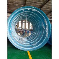 20立方内加强筋玻璃钢化粪池@新型玻璃钢化粪池