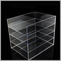 亚克力展示架供应桌面小型书架 资料架文具收纳整理架