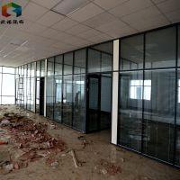 徐州办公室隔断移动玻璃隔断墙安装方法